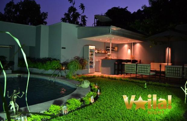 Villa tricana kinshasa voila night for Construction de maison a kinshasa