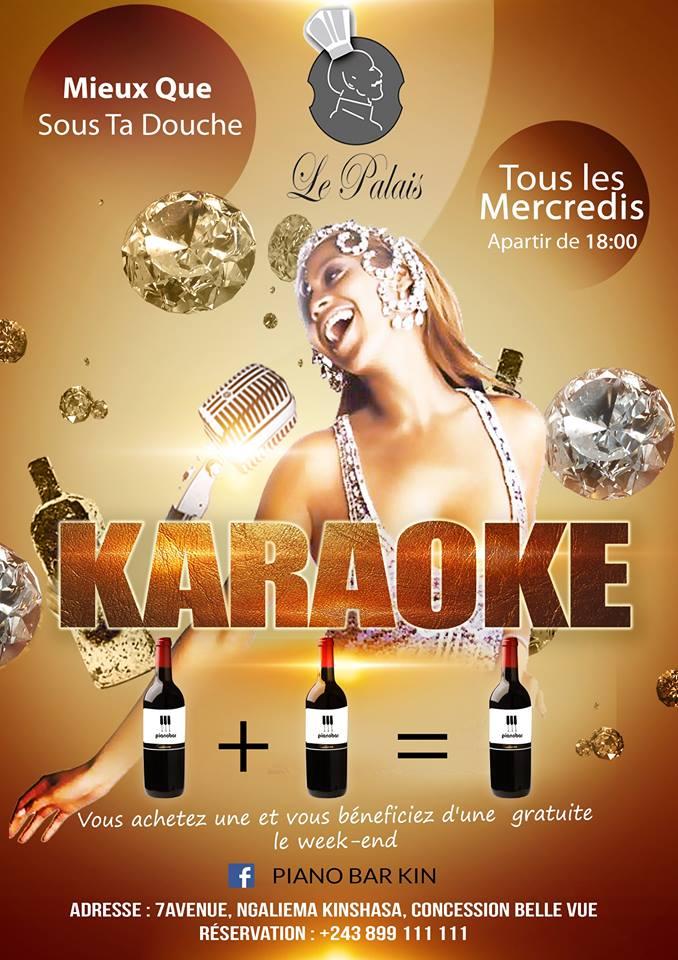 Soirée Karaoke - Le Palais Kinshasa