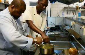 Chef Alain Roldao  - Restaurant Cosy Kinshasa