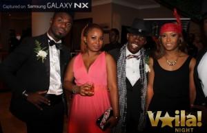 Abdoul kaba et Pegguy Tabu Great Gatsby Sultani hotel Kinshasa