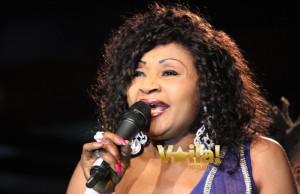 Mbilia Bel  au  Miss Vodacom RDC  - Final 2014