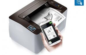 Les premières imprimantes NFC de Samsung