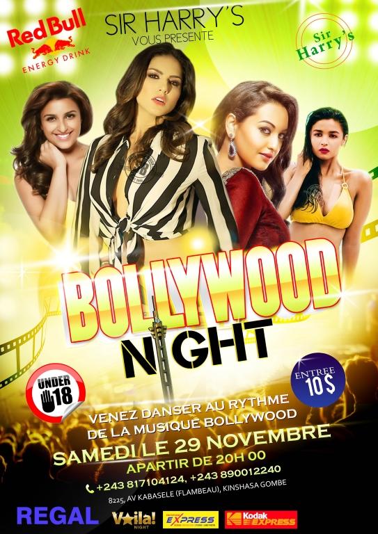 Bollywood night sir harrys