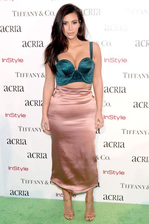 Kim Kardashian au 19eme anniversaire de ACRIA - Decembre 2014