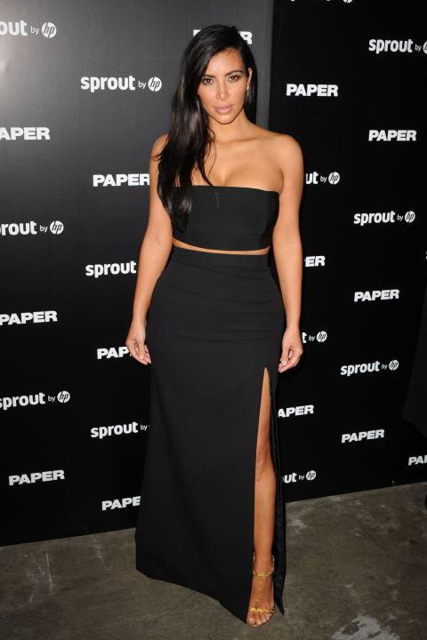 """Kim pour la sortie du Magazine """"Paper""""  4 Decembre 2014"""