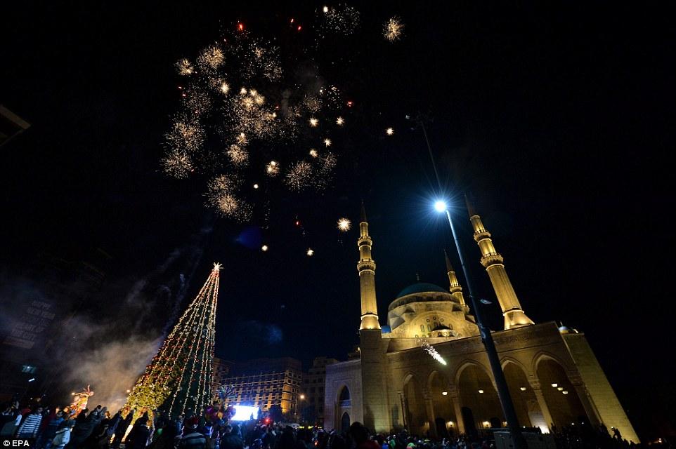 Celebration au Liban a Beirout