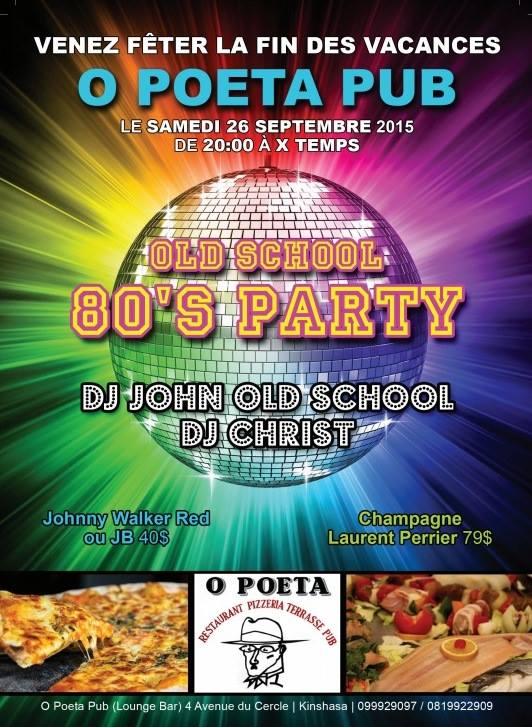 OLD SCHOOL 80's PARTY - OPOETA PUB