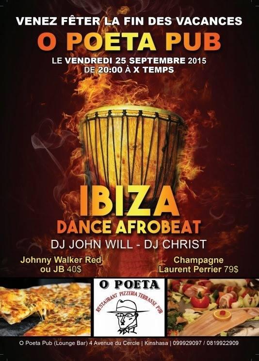 O'POETA - IBIZA &DANCE AFRO BEAT