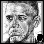 Barack Obama par M. Kadima