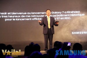 Bill Kim lancement Samsung S7 RDC