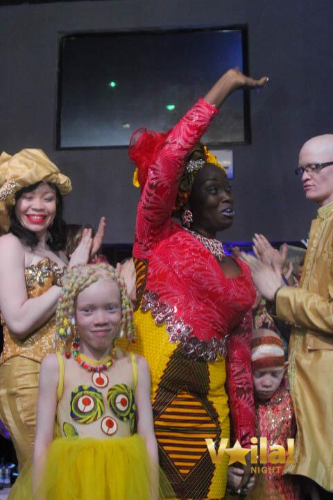 Carine Mpala, OKAPI MODE, habille les albinos