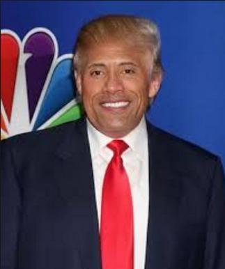 the-rock-trump