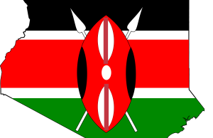 kenya_flag_map