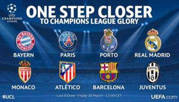 l uefa a procede ce lundi 12 decembre a nyon au tirage au sort des huitiemes de finale de la ligue des champions les 16 equipes connaissent leurs