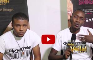 Dynamite Events Kinshasa, Arnaud Bokanga, Emy Ango