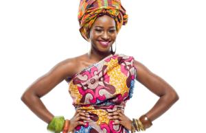 Femme Africaine en page