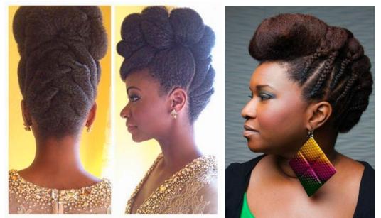 Nappy Hair 10 Belles Coiffures Pour Votre Mariage Voila Night