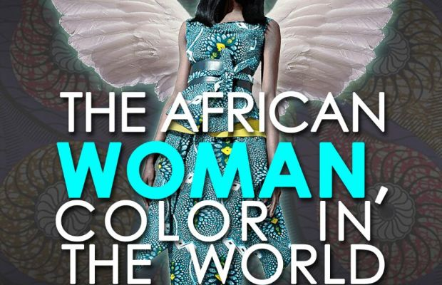 THE AFRICAN WOMAN COLOR IN'THE WORL