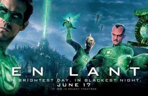 Green Lantern Film Banner