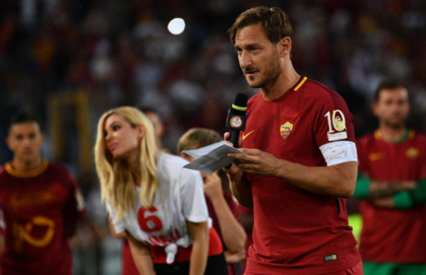 AS ROME, FRANCESCO TOTTI