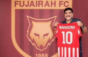 Maradona-becomes-Al-Fujairah-Sports-Club-new-manager