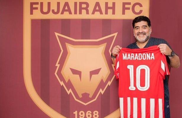 Maradona-becomes-Al-Fujairah-Sports-Club-new-manager