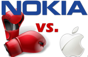 NOKIA ET APPLE