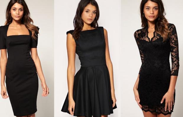 Comment porter robe noire classique