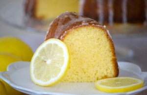 IRISH LEMON CAKE