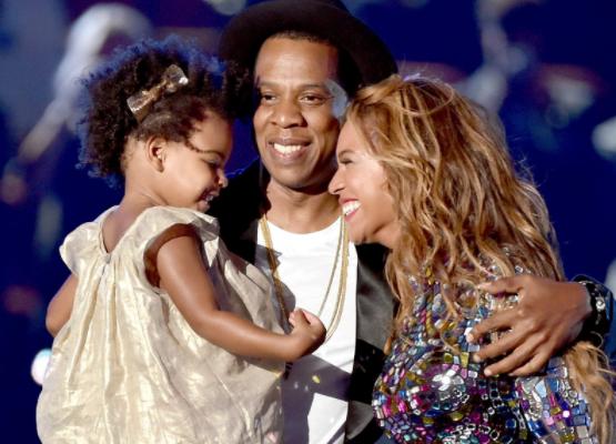 Jayz Beyonce et Blue IVY