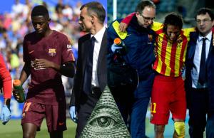 Dembélé et Neymar