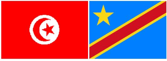 Tunisie vs RDC