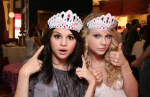 SELENA GOMEZ - TAYLOR SWIFT