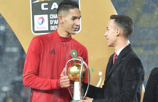 SAR le Prince Héritier Moulay El Hassan préside la finale du CHAN
