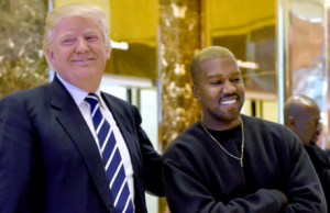 KAYNE WEST et Donald Trump