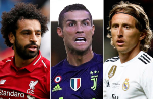 THE FIFA BEST PLAYERS 2018