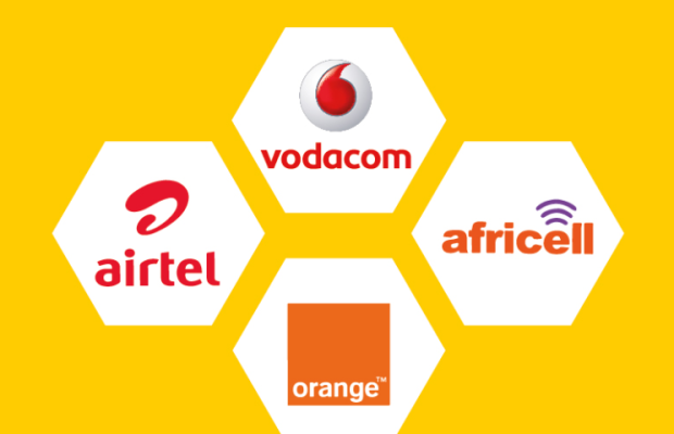 Vodacom airtel orange africell
