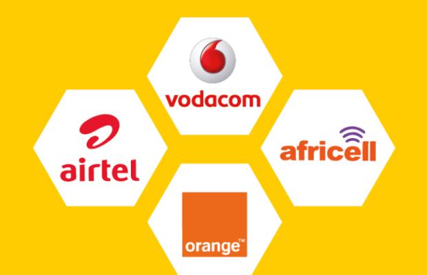 Vodacom airtel orange africell