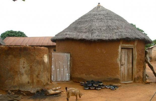 Traditional-African-mud-hut