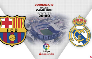 FC BARCELONE vs REAL MADRID