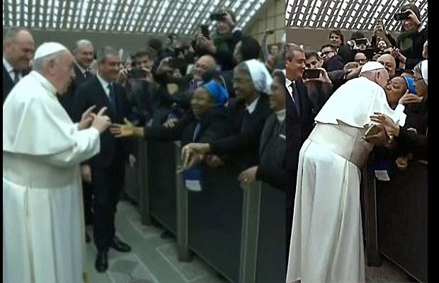 Promise-you-wont-bite__-Pope-Francis-asks-nun-before-kissing-her-lailasnews-780x400