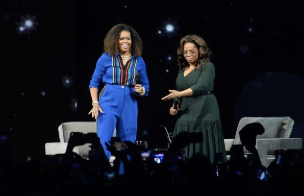 OPRA ET MICHELLE OBAMA