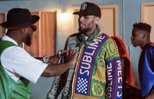 CHRIS BROWN À L'ARTISTE NIGÉRIAN DAVIDO