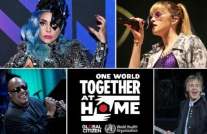 One World Togethere at home