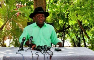 amisi kumba dit tango fort, 28 mai 2020, démission