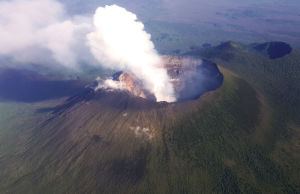 An_aerial_view_of_the_towering_volcanic_peak_of_Mt._Nyiragongo